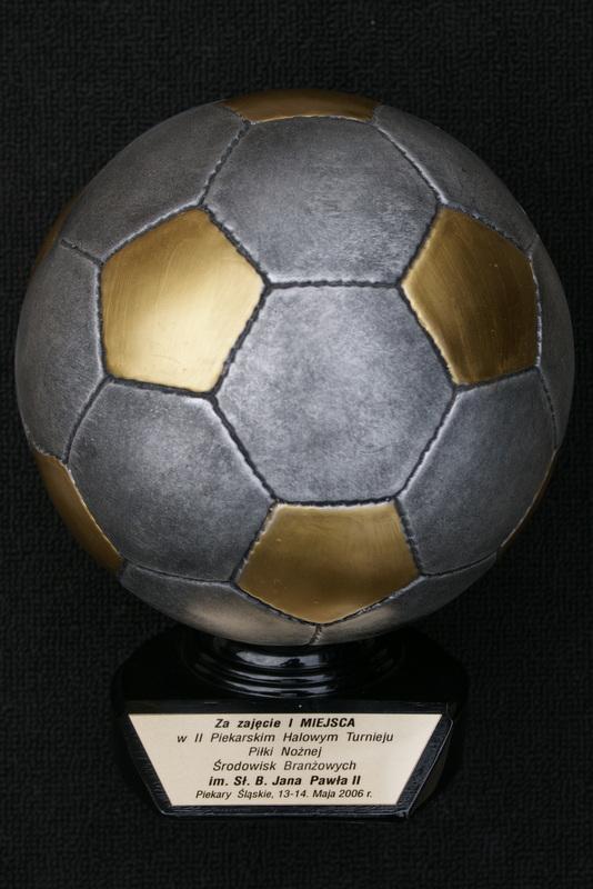 I miejsce w II Piekarskim Halowym Turnieju Piłki Nożnej Środowisk Branżowych im. Sł. B. Jana Pawła II