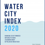 Okładka raportu Water City Index 2020