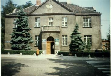 Pierwsza siedziba Dyrekcji